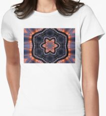 Vibrant Romeo Sunrise Kaleidoscope Women's Fitted T-Shirt