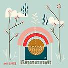 Natural Cycle - plants, trees, rainbows and rain by Andi Sigsbey