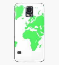 Pixel Map of the world Case/Skin for Samsung Galaxy