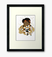 Chibi Paladins- Hunk Framed Print