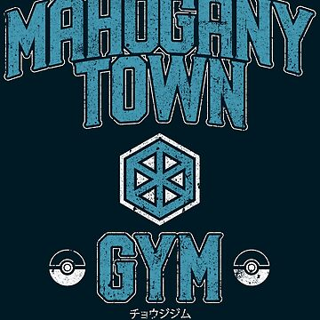 Mahogany Town Gym by huckblade