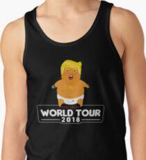 Baby Trump World Tour T-Shirt Men's Tank Top
