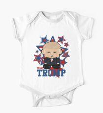 Team Trump Politico'bot Toy Robot Short Sleeve Baby One-Piece