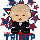 Team Trump Politico'bot Toy Robot by Carbon-Fibre Media