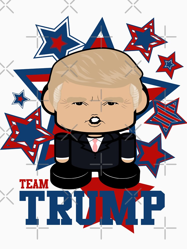 Team Trump Politico'bot Toy Robot by carbonfibreme