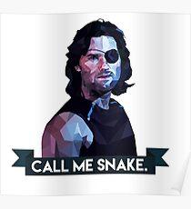 Snake Plissken Poster
