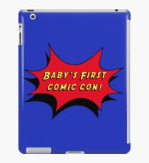 Baby's First Comic Con iPad Case/Skin