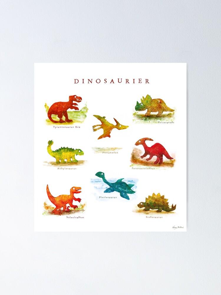 Alternative Ansicht von Dinosaurier Poster