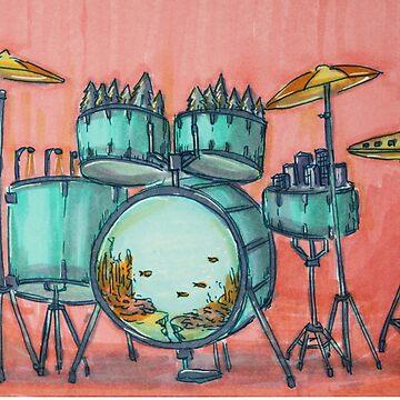 Drum City by nagayama