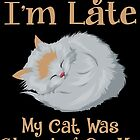 Sorry Im late my cat was sleeping on me (Katze) by JH-Design