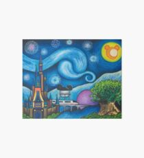 Starry Night Over the World Art Board