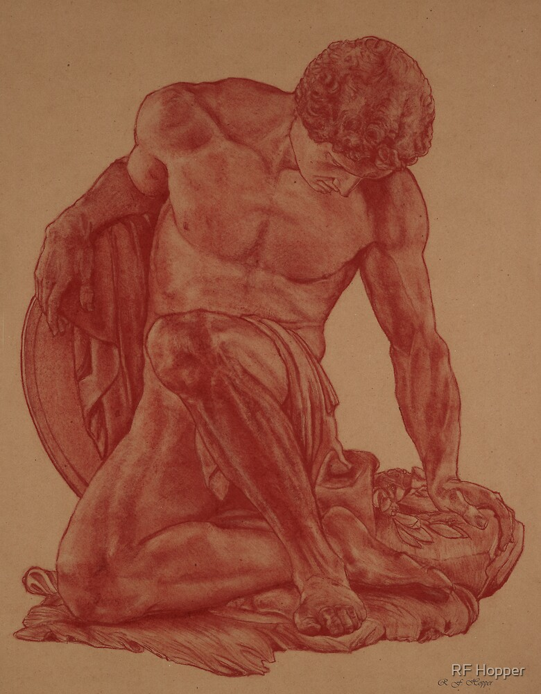 Dying Gladiator by RF Hopper