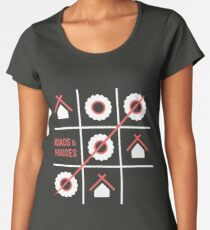 Roads and Houses Game - a road trip always wins Women's Premium T-Shirt