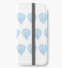 Blue drops-2 iPhone Wallet/Case/Skin