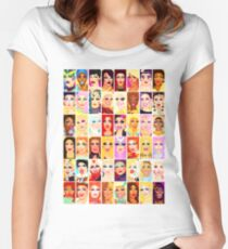 DRAG QUEEN ROYALTY Women's Fitted Scoop T-Shirt