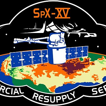 NASA/SpaceX Commercial Resupply Services CRS-15 (SpX-15) Mission Patch by bobbooo