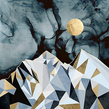 Midnight Peaks by spacefrogdesign