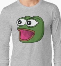 POGGERS Emote Long Sleeve T-Shirt