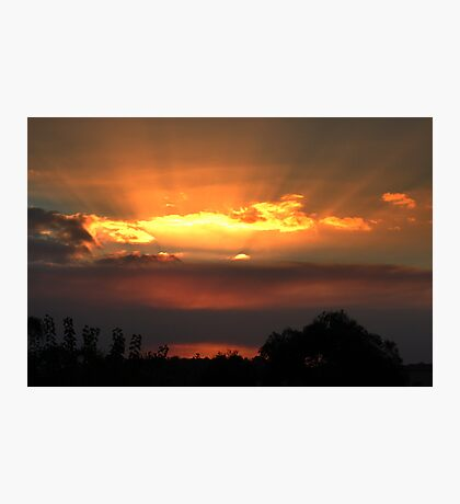 Rays Of Sunshine.  Photographic Print