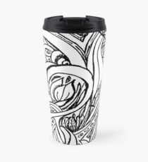 Looping Leaves Travel Mug