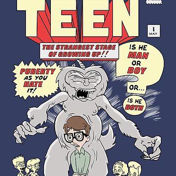 The Big Mouth Awkward Teen by Dansmash