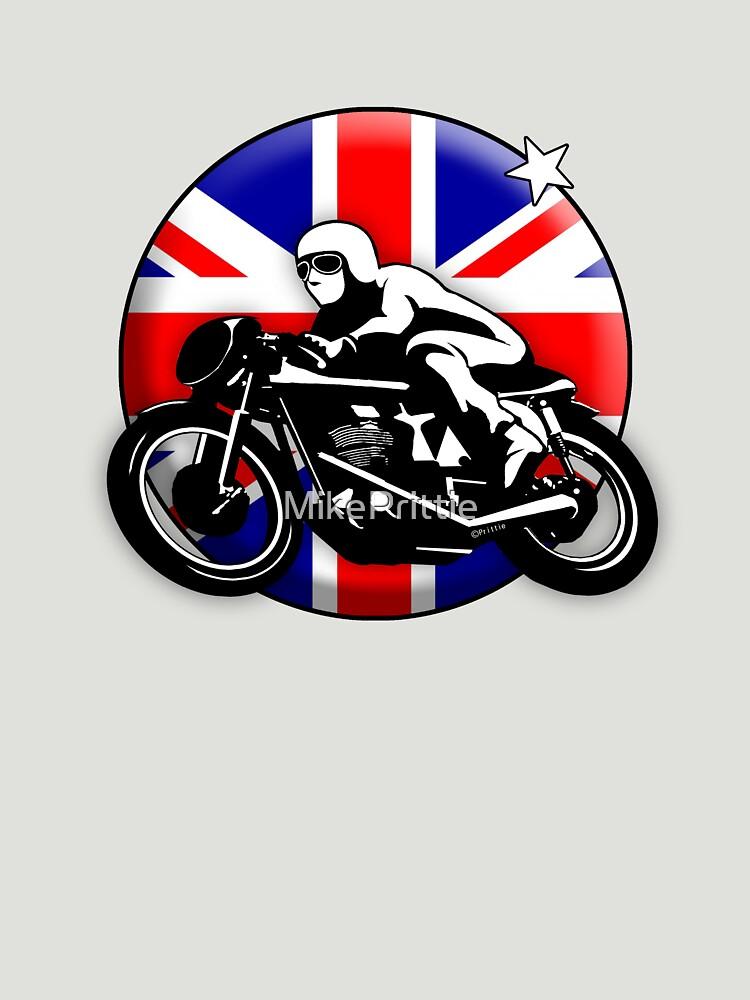 Classic British Motorbike by MikePrittie