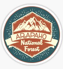 Arapaho National Forest Sticker