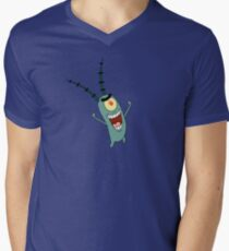 Plankton Men's V-Neck T-Shirt