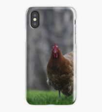 She is running iPhone Case/Skin