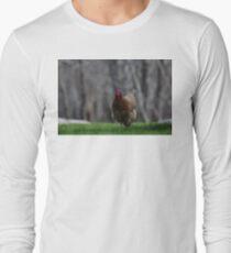 She is running Long Sleeve T-Shirt