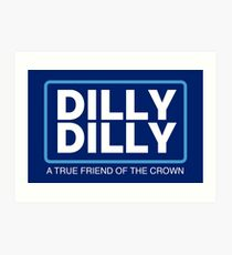 Dilly Dilly Large Art Print