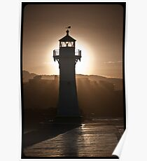 Lighthouse by David Petranker Poster