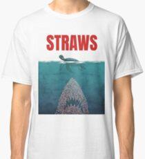 Strohhalme Classic T-Shirt