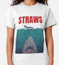 Straws  Classic T-Shirt