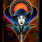 Trilia Red Nebula Portrait by xzendor7