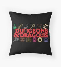 Dungeons & Dragons Throw Pillow
