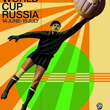 FIFA : Soccer World Cup Russia Advertising Print by posterbobs