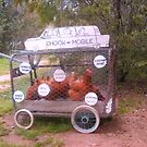 Chook mobile by David Smith