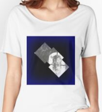 Glowing Squares Women's Relaxed Fit T-Shirt