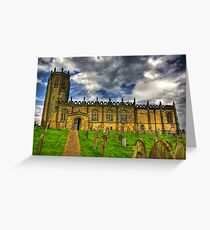 St Michael's Church - Coxwold,North Yorkshire Greeting Card