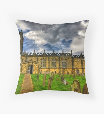 St Michael's Church - Coxwold,North Yorkshire Throw Pillow