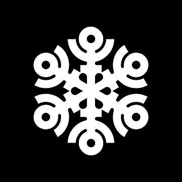 Geometric Snowflake by tndesigns92