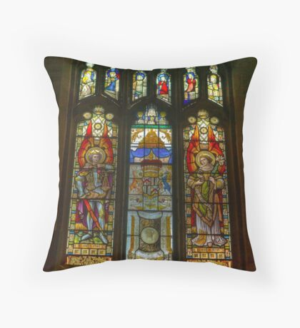 St Michael's Church - Coxwold,North Yorkshire. Throw Pillow
