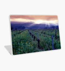 Spring Sunset Over Napa Valley Laptop Skin