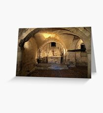 Westminster Abbey Pyx Room Greeting Card