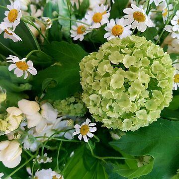 Green bouquet by OllieandQuinn
