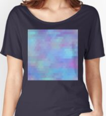 Color Vibe abstract geometric art Women's Relaxed Fit T-Shirt