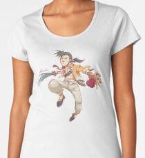 Kung Fu Women's Premium T-Shirt
