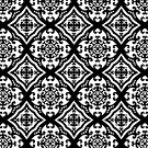 A Fine Flourish Digital Pattern Design by Guinevere Saunders