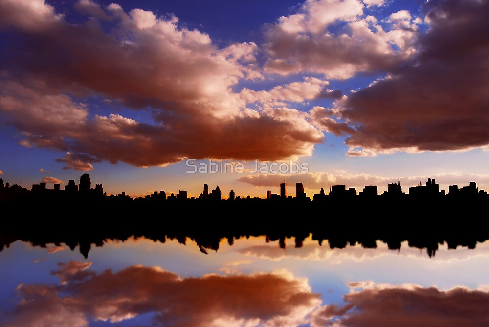 Morning at the Reservoir, New York City, USA by Sabine Jacobs